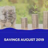 Savings August 2019 Cover