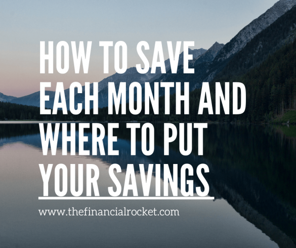 How to Save Each Month
