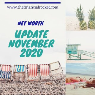 ⭐ A new blog post is out! I recently updated my Net Worth for the month of November. Been a busy December but still managed to analyse my financials. Improving little by little 😁 . Follow 💥 @thefinancialrocket 👈🏾 for more financial inspiration! . Comment 🤔 down below: Have you updated your Net Worth recently? . ............  ✔ Follow Me @thefinancialrocket  ✔ Share with a friend!  ............