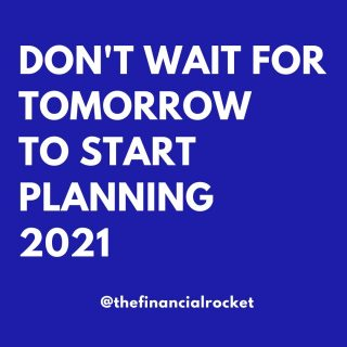 ⭐ I just started planning 2021! After reviewing my 2020 financial and personal year, it's time to plan the year ahead. Set the direction and make it count 😁 . Follow 💥 @thefinancialrocket 👈🏾 for more financial inspiration! . Comment 🤔 down below: Have you reviewed 2020? What could you have done better? . ............  ✔ Follow Me @thefinancialrocket  ✔ Share with a friend!  ............