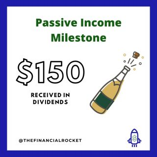 ⭐ I have reached a new milestone on my Dividend Income Portfolio. While this is not my main portfolio, I want to keep growing this account by investing on a weekly basis. Start investing today! . Follow 💥 @thefinancialrocket 👈🏾 for more financial inspiration! . Comment 🤔 down below: What are your sources of passive income? . ............  ✔ Follow Me @thefinancialrocket  ✔ Tag a friend! ............