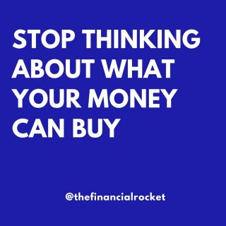 """⭐ We have to change the way we think about money. As J.L. Collins states """"Stop thinking about what your money can buy. Start thinking about what your money can earn."""" . Follow 💥 @thefinancialrocket 👈🏾 for more financial inspiration! . ............  ✔ Follow Me @thefinancialrocket  ✔ Share with a friend!  ............"""