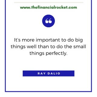 ⭐ I think we can all learn something with Ray Dalio. One of the big things in life is to know how to manage our money and we should attempt to do it well. . Follow 💥 @thefinancialrocket 👈🏾 for more financial inspiration! . ............  ✔ Follow Me @thefinancialrocket  ✔ Share with a friend!  ............