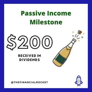⭐ Yet another milestone for my Dividend Income Portfolio. While this is not my main portfolio, I do invest on weekly basis with small amounts! The key here is to start investing... . Follow 💥 @thefinancialrocket 👈🏾 for more financial inspiration! . Comment 🤔 down below: Do you like dividends? . ............  ✔ Follow Me @thefinancialrocket  ✔ Tag a friend! ............